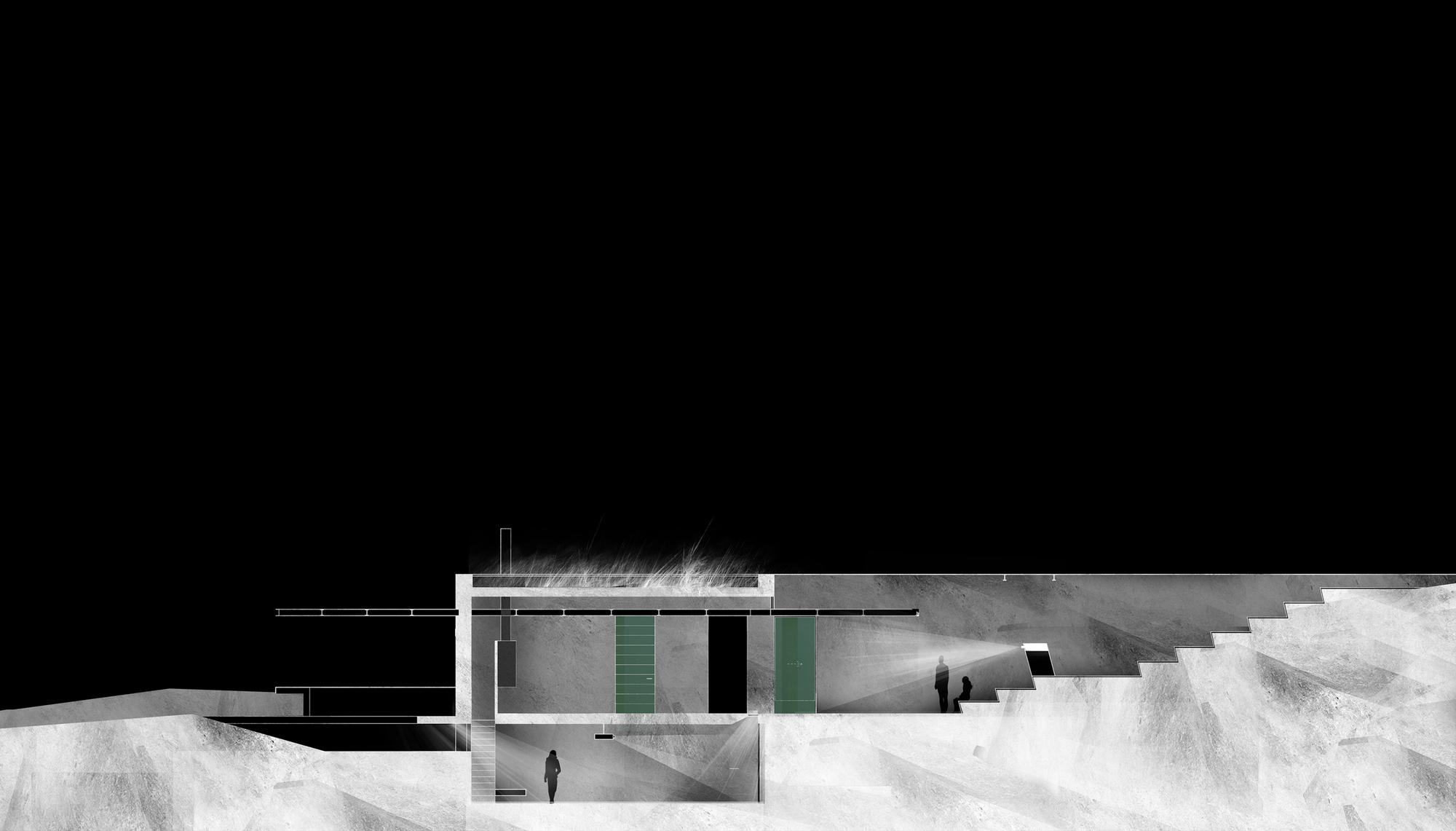 Casas arquitectura enterrada plataforma arquitectura - Casas enterradas ...