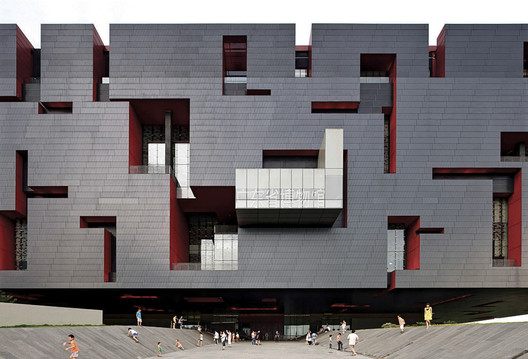 Guanzhou Museum. Image Courtesy of Rocco Design