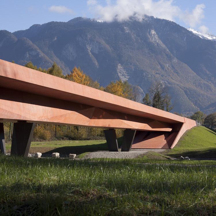 Puente sobre Rhone / Meier + Associés Architectes, © Yves André