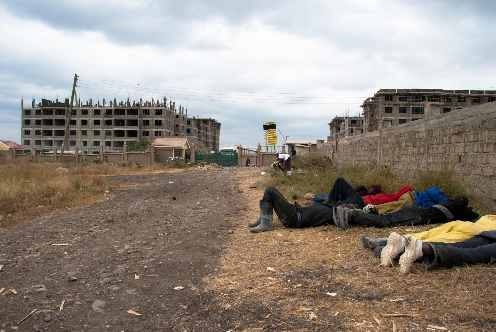 La tercera fase de Apartamentos Gran Muralla está actualmente bajo construcción. Imagen cortesía de Go West Project