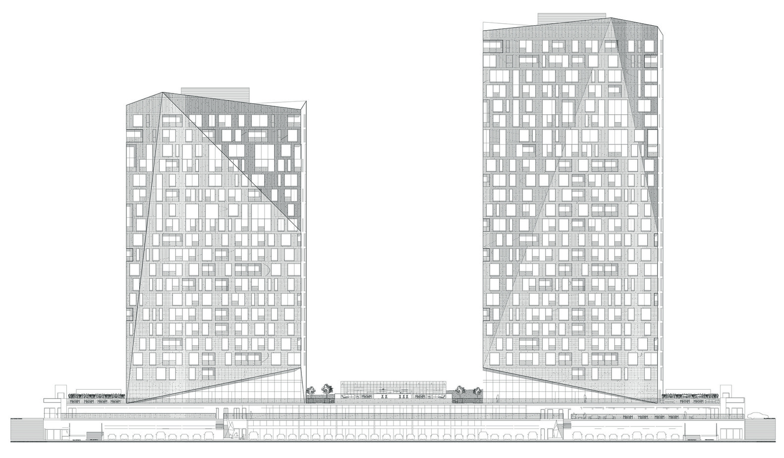Homefront Tower Elevation : Gallery of magma towers glr arquitectos