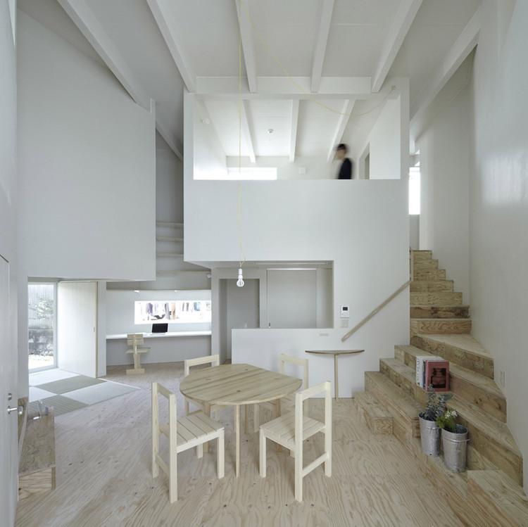 Casa en Iizuka / Rhythmdesign, © Koichi Torimura