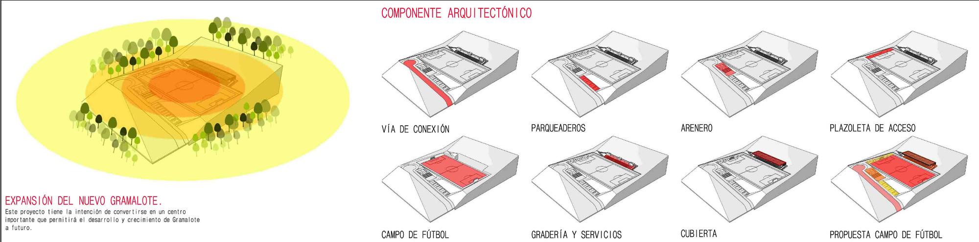 Propuesta. Image Courtesy of CONTRAPUNTO Taller de Arquitectura
