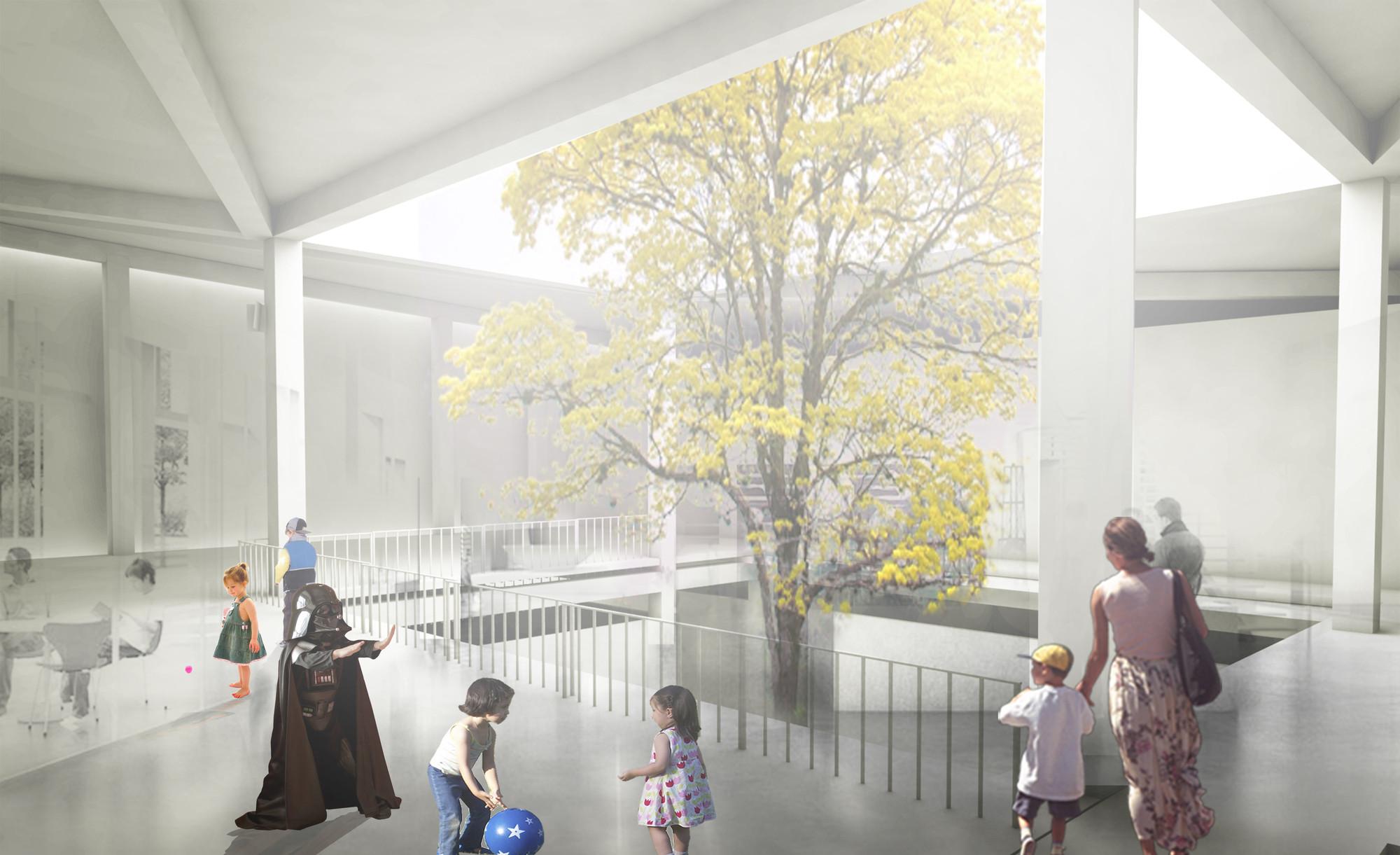 MegaColegio: zona pre-escolar. Image Courtesy of Equipo desarrollador