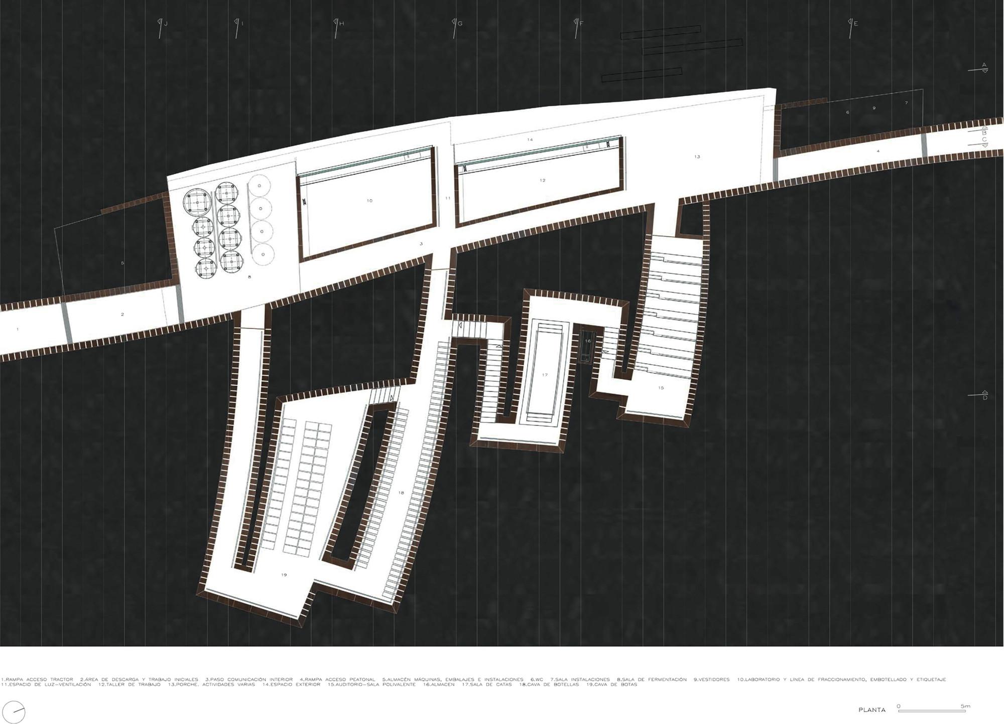 Gallery Floor Plans Gallery Of Bell Lloc Winery Rcr Arquitectes 27