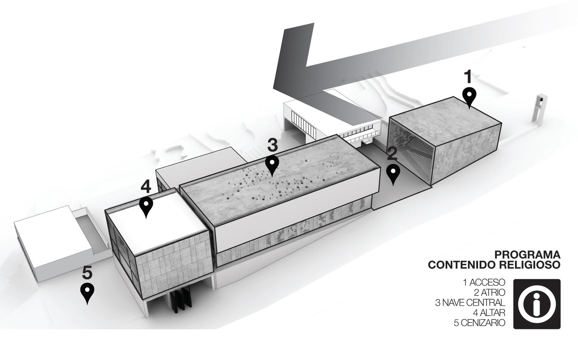 Contenido religioso. Image Courtesy of Taller de arquitectura Singular