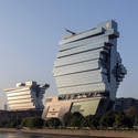 Nanfung Commercial, Hospitality and Exhibition Complex, Guangzhou, China. Image Courtesy of Aedas
