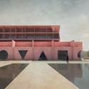 Architecture Museum Exterior. Image © IaN+