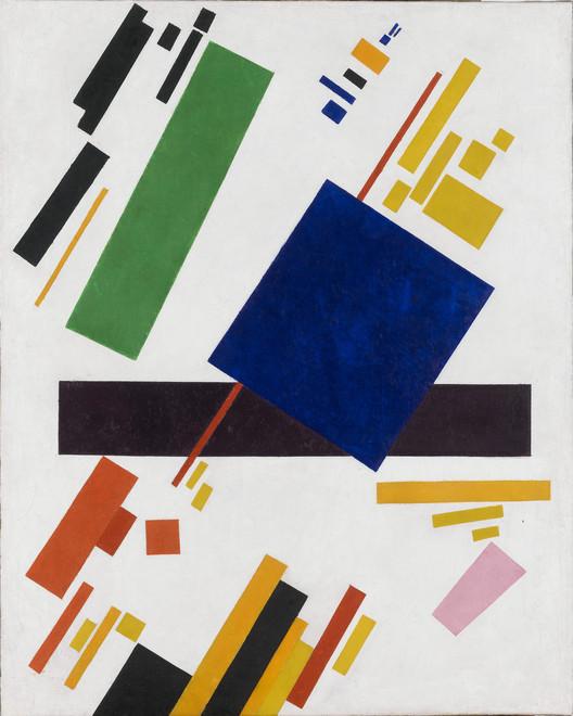 Composición suprematista / Kazimir Malevich. Image Dominio Público