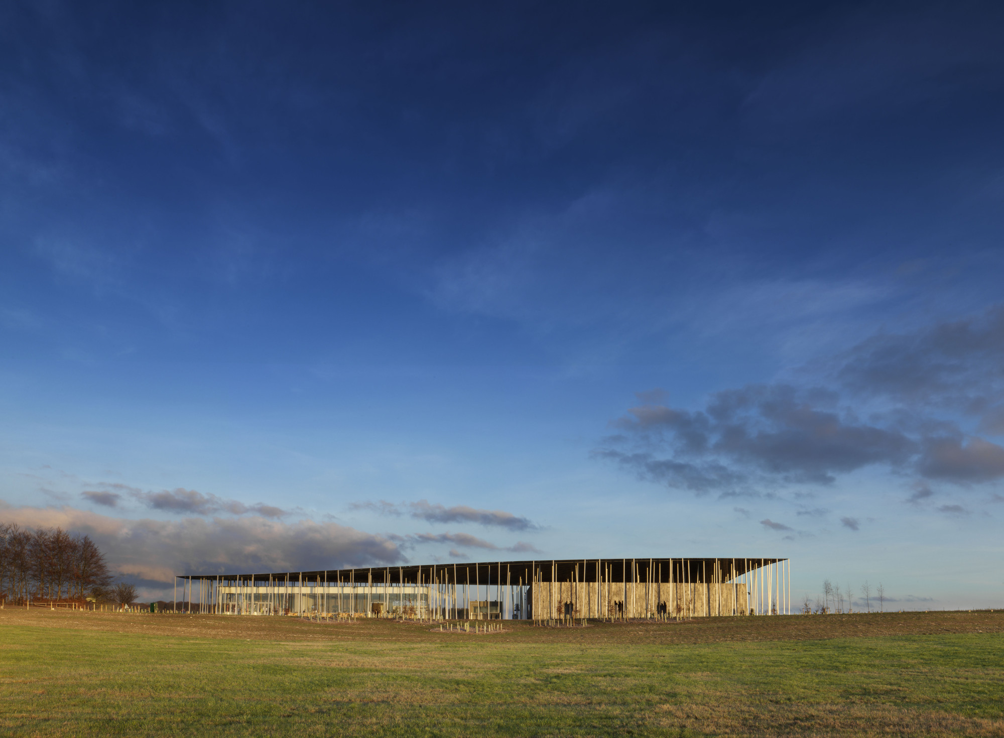 Australian Institute of Architects Awards Best Overseas Projects by Australian Architects, Stonehenge Exhibition + Visitor Centre / Denton Corker Marshall. Image © James Davies