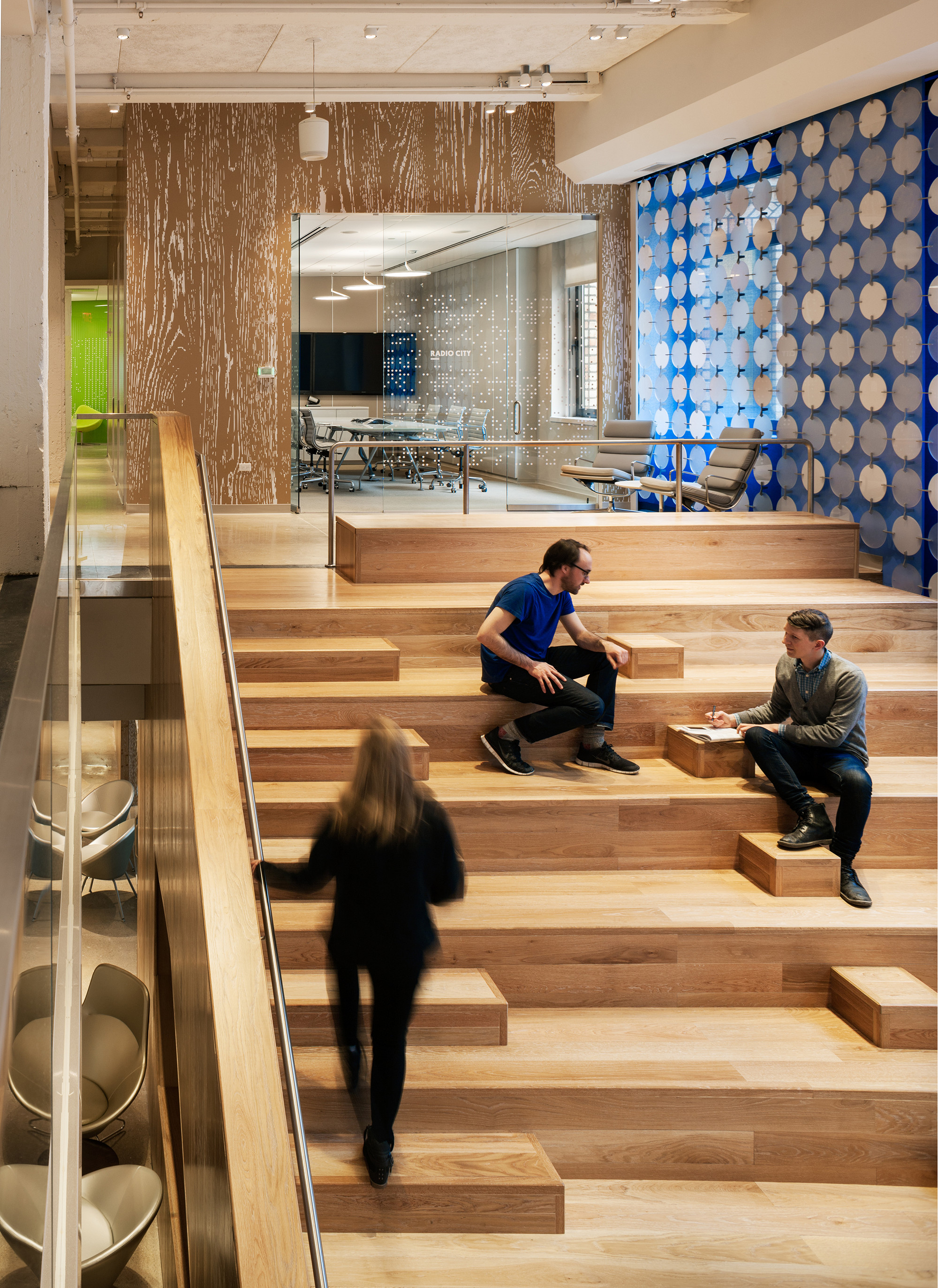 Gallery of pandora media inc new york office aba studio for Interior design internships nyc