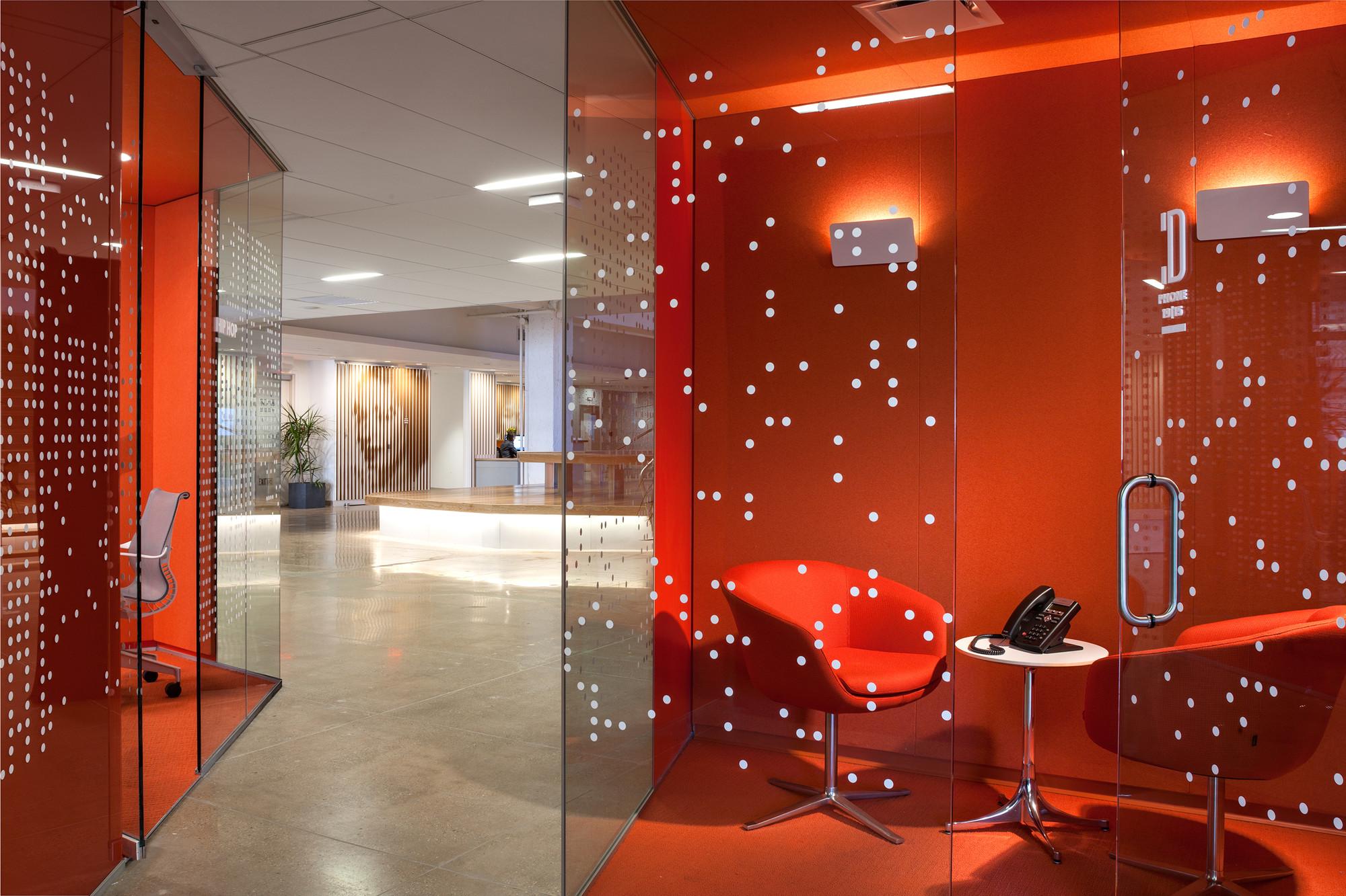 Gallery of pandora media inc new york office aba studio for Office design york