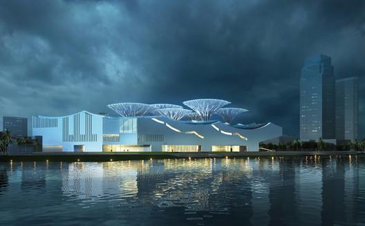 Exterior View. Image © ABALOS+SENTKIEWICZ arquitectos