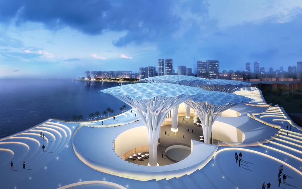 Vista exterior. Imagen © ABALOS+SENTKIEWICZ arquitectos