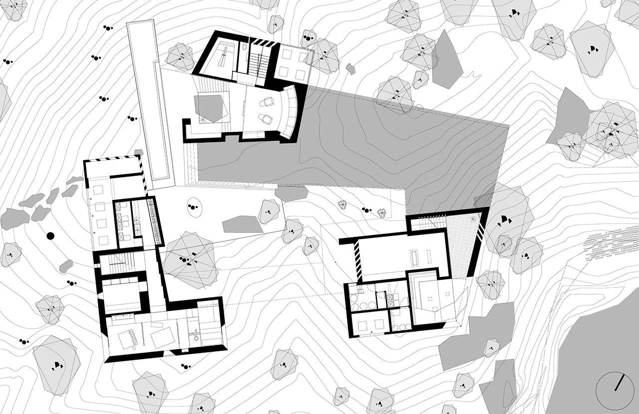 Gallery of desert courtyard house wendell burnette for Desert house plans