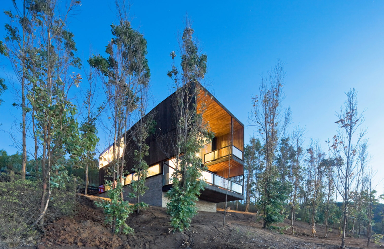 Gallery of cortes house wmr arquitectos 6 for Country house com