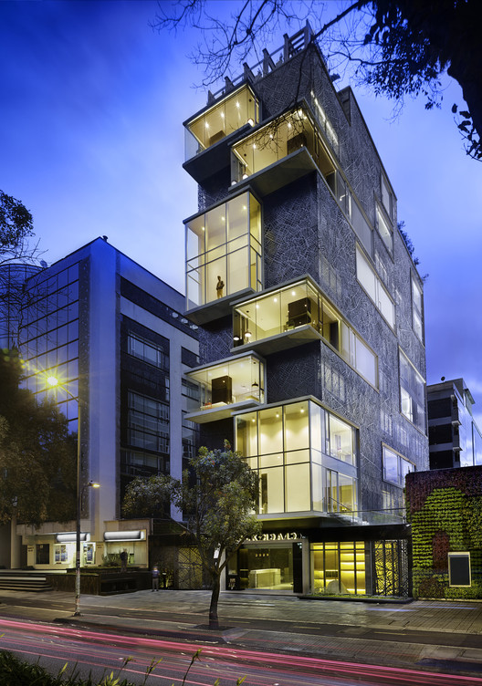 Click Clack Hotel  / Plan B Arquitectos, © Andrés Valbuena