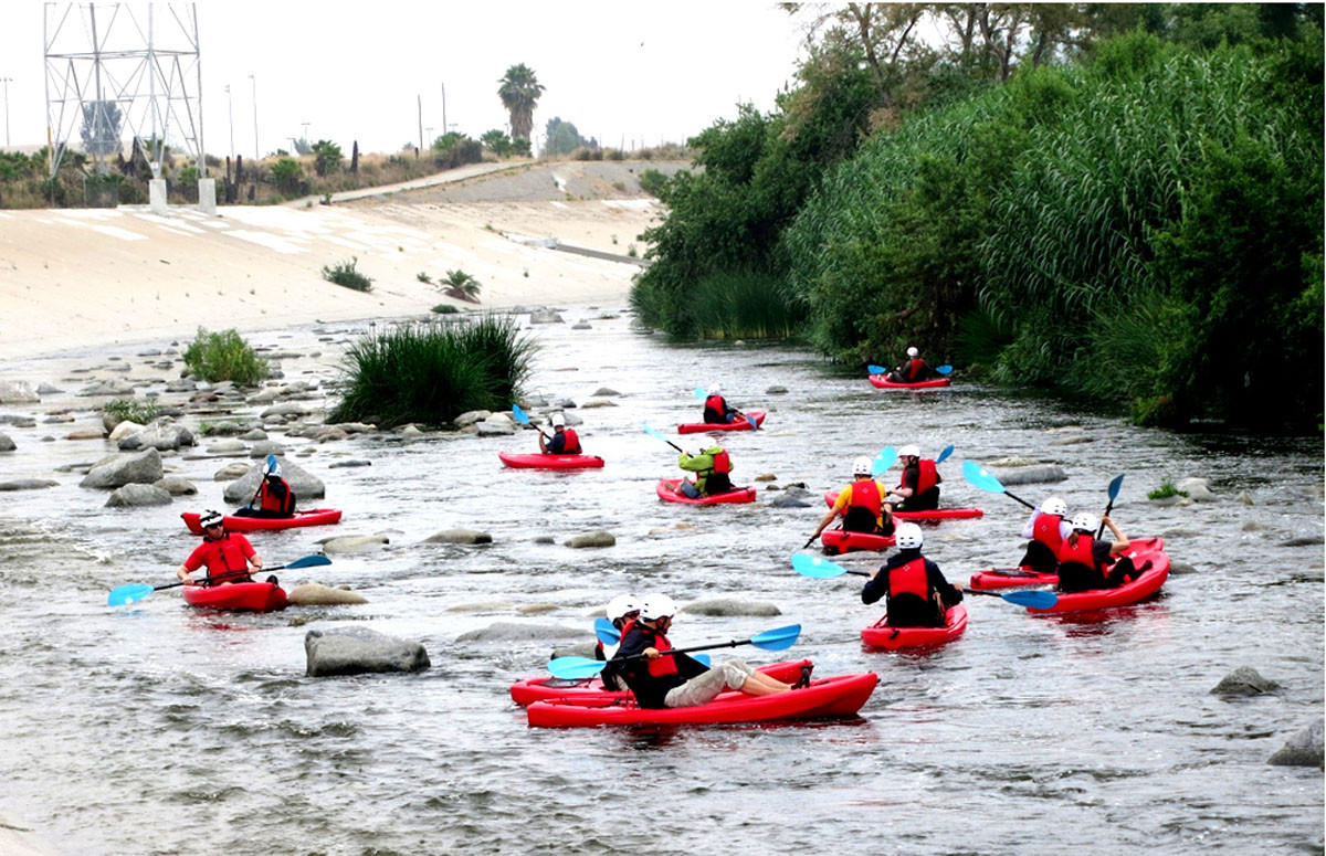 Los Angeles The River City ArchDaily - Los angeles river kayak map
