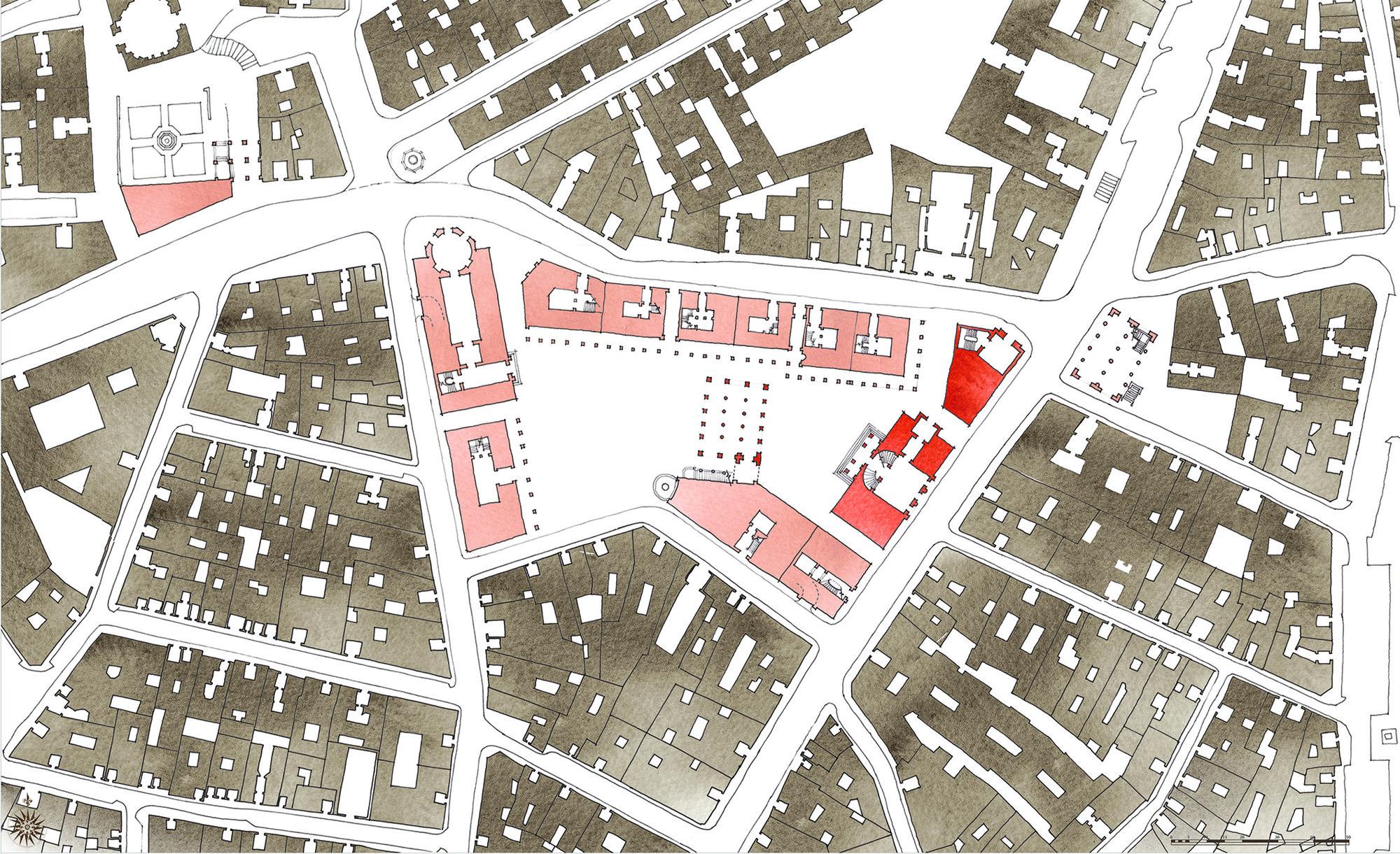 Planta general de propuesta. Image Courtesy of Equipo desarrollador