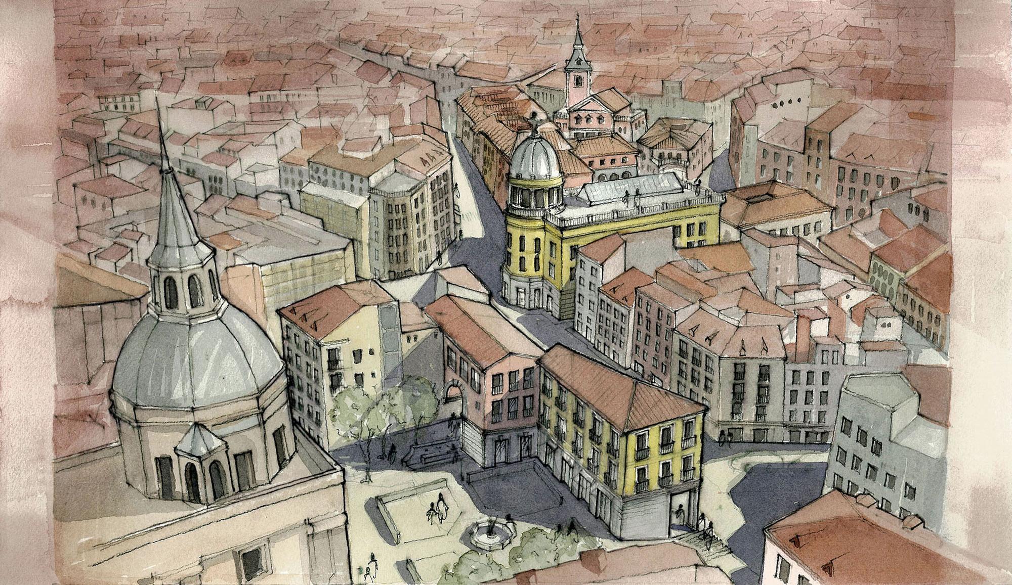Vista desde San Andrés. Image Courtesy of Equipo desarrollador
