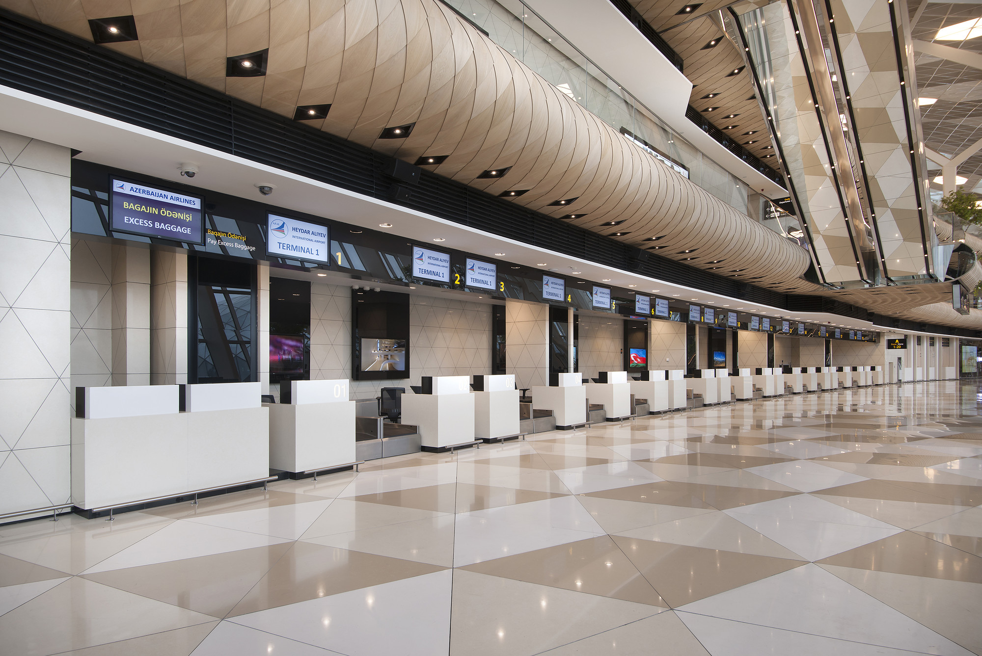 Gallery of heydar aliyev international airport baku for International interior designers