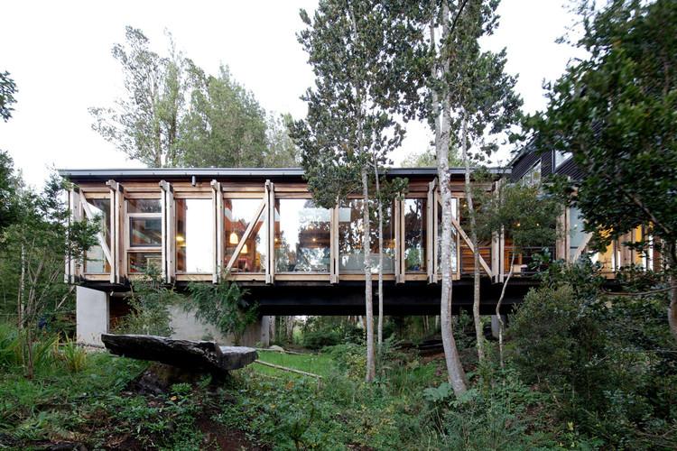 Casa Puente / Aranguiz-Bunster Arquitectos, © Nico Saieh