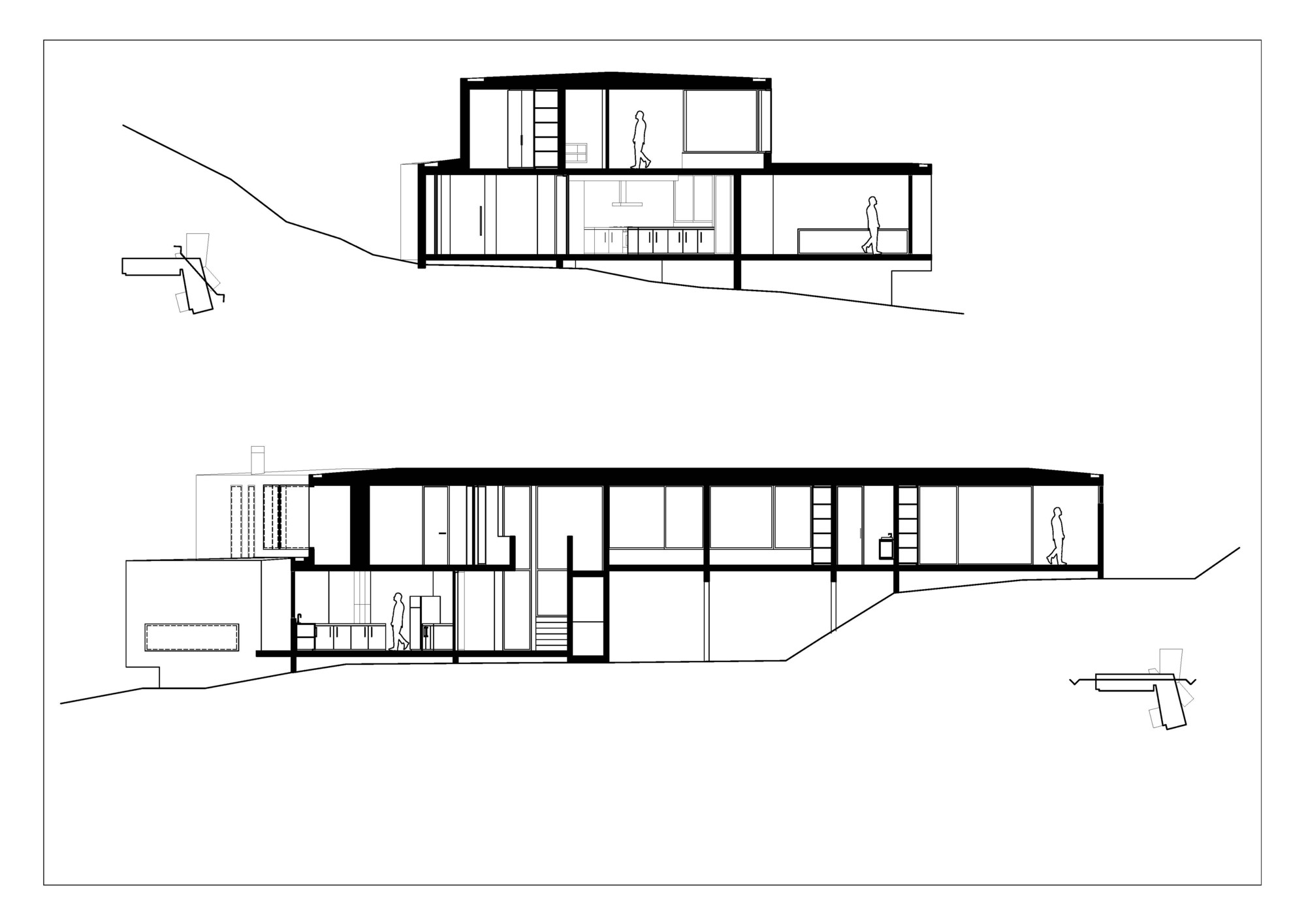 Eames House Floor Plan Gallery Of Catch The Views House Land Arquitectos 18