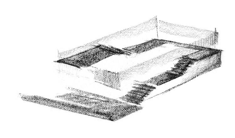 Dibujo de Edificio de Oficinas Novartis 335