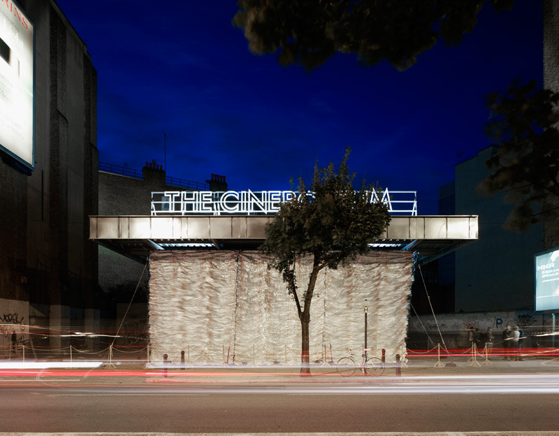 From Derelict Structure to Urban Cinema, Courtesy of Assemble