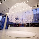MIT Media Lab's Silk Pavilion. Image © Steven Keating