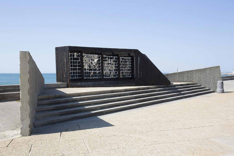 """""""Breath Box"""" de NAS Architecture en La Grande Motte. Imagen © photoarchitecture, Cortesía de Paul Kozlowski"""