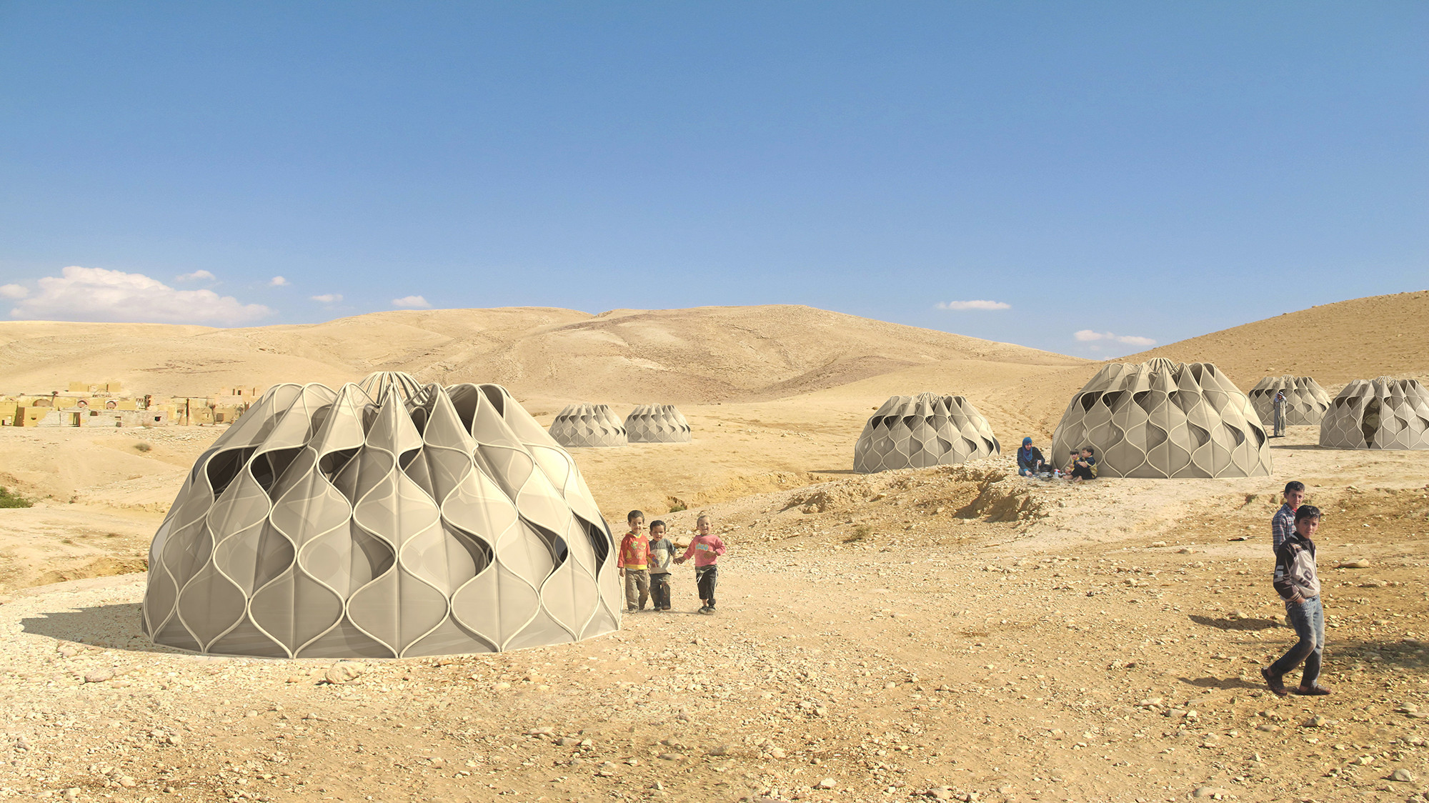 En Detalle: Tejido Estructural para Refugios de Emergencia, Courtesy of Abeer Seikaly