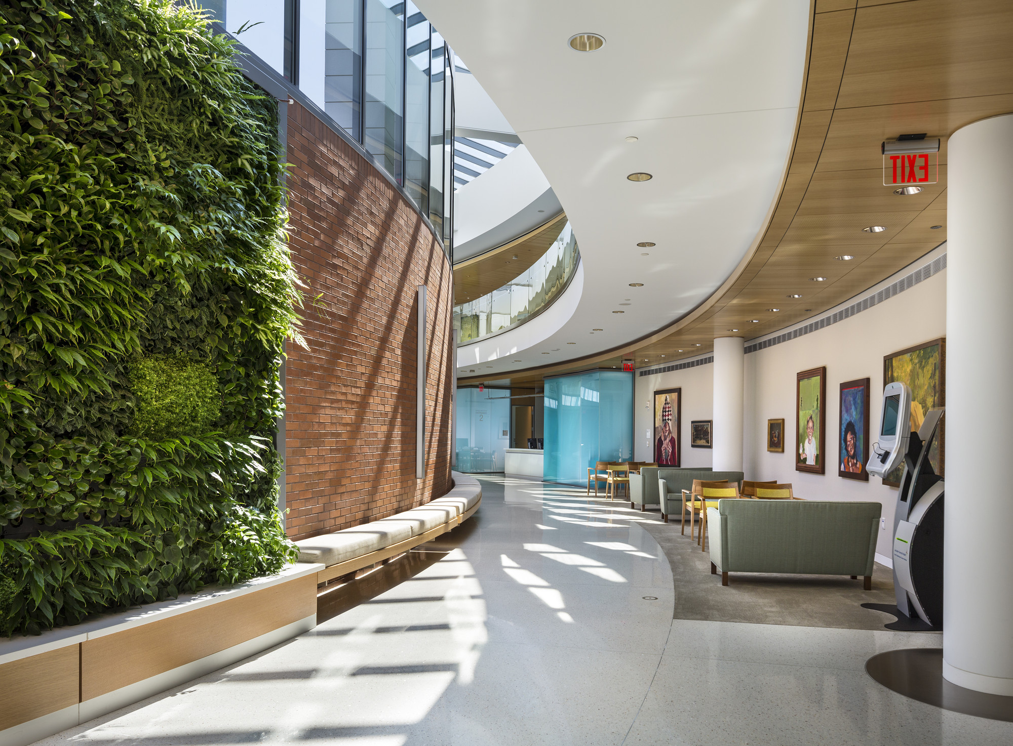 Gallery of aia announces winners of national healthcare for Healthcare interior design awards