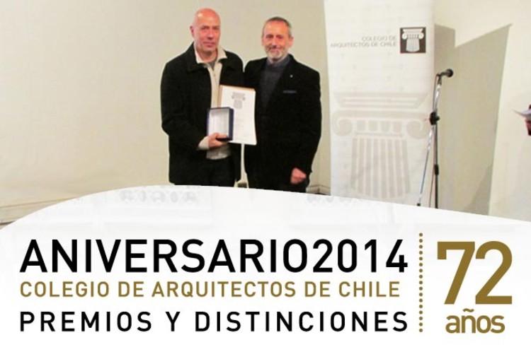 Colegio de Arquitectos de Chile anuncia a los ganadores de sus Premios Nacionales 2014, Cortesía de Colegio de Arquitectos