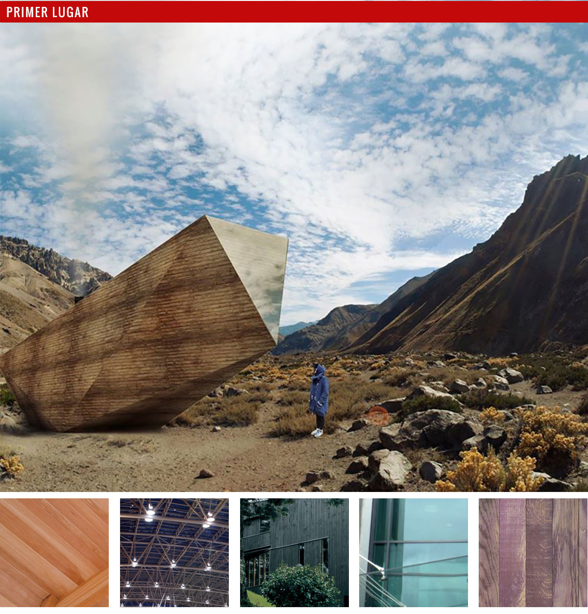 Anteproyecto: Refugio de Alta Cordillera / Edgard Alfredo Torres