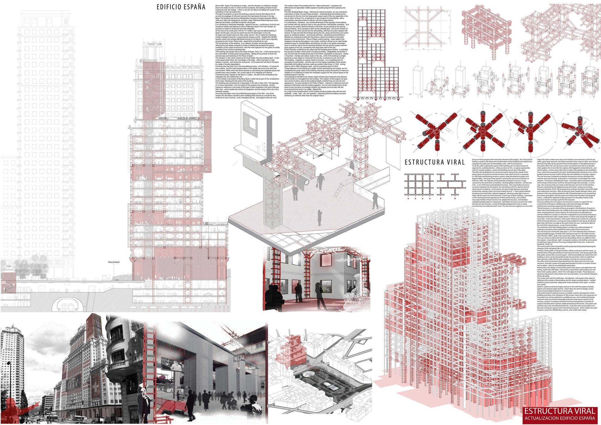 Mención Honrosa: Estructura viral. Image Courtesy of IS ARCH