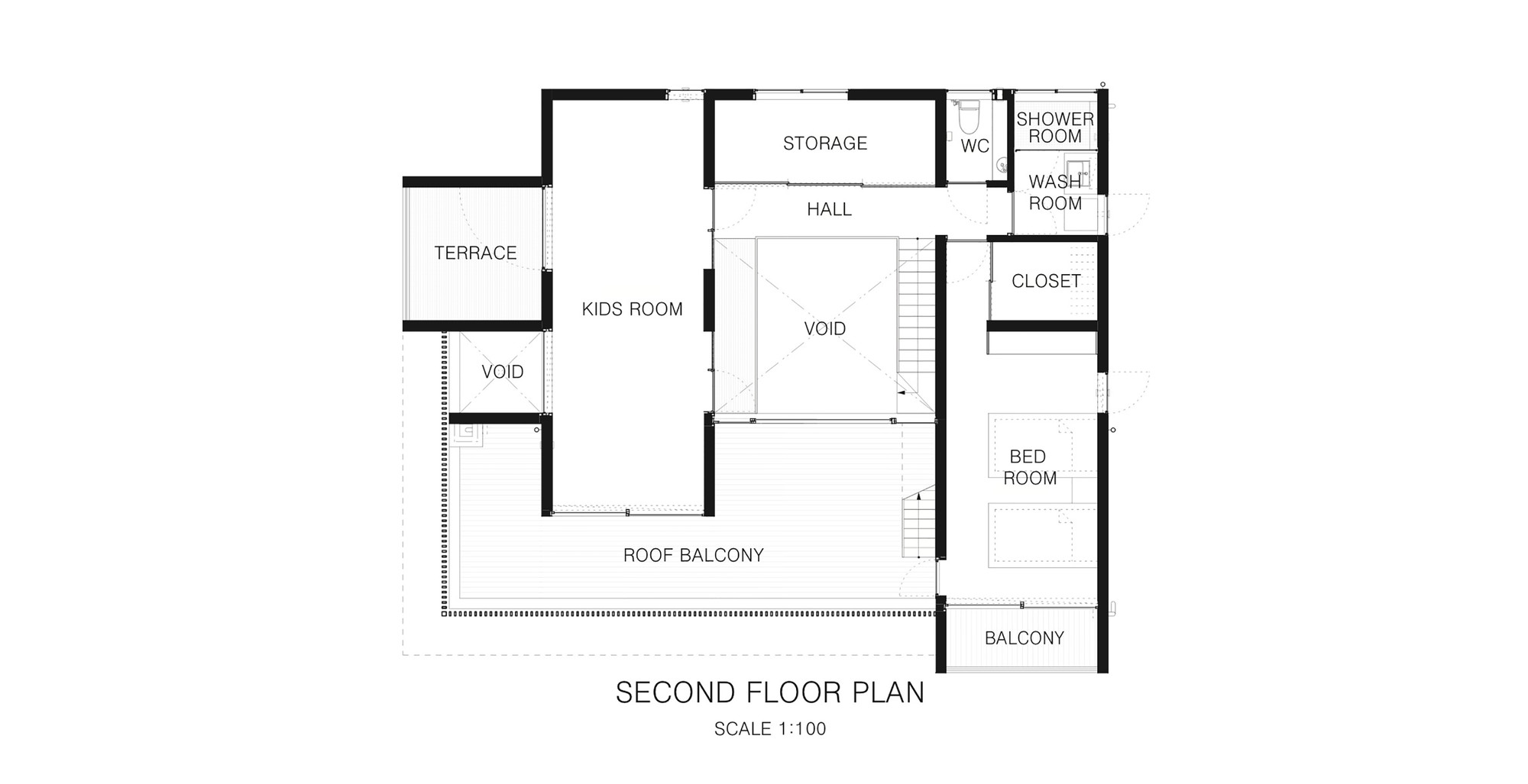 Gallery of foo apollo architects associates 17 for 2nd floor house plan