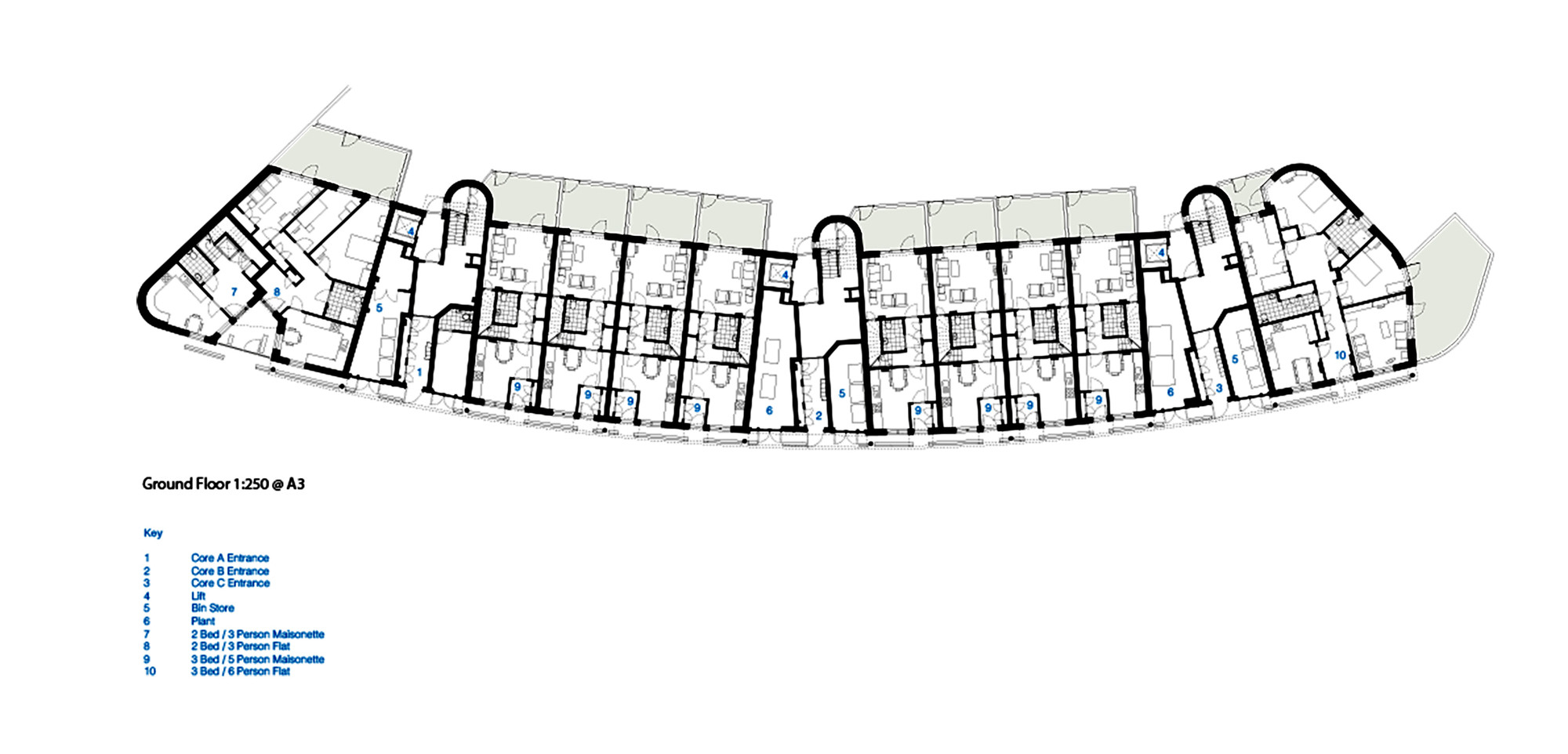 gallery of mint street peabody housing pitman tozer architects 12 zoom image view original size