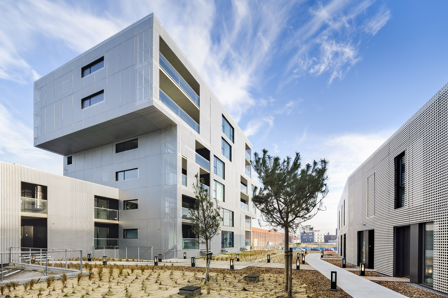 Gallery of housing in le havre phd architectes 8 for 3d architecture le havre