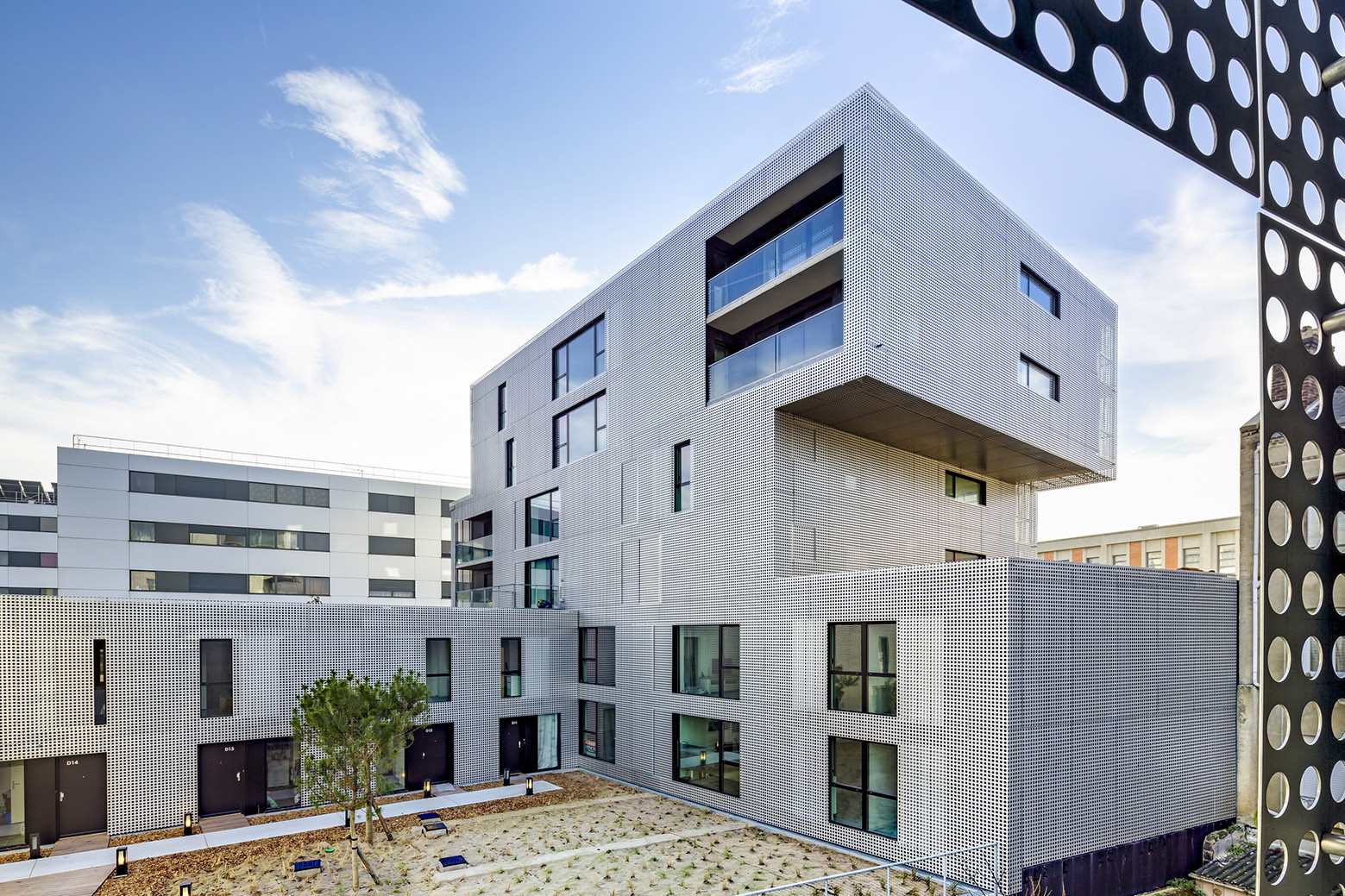 Gallery of housing in le havre phd architectes 2 for 3d architecture le havre