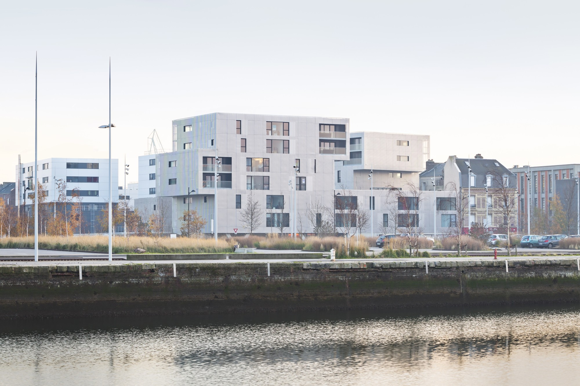 Gallery of housing in le havre phd architectes 12 for 3d architecture le havre