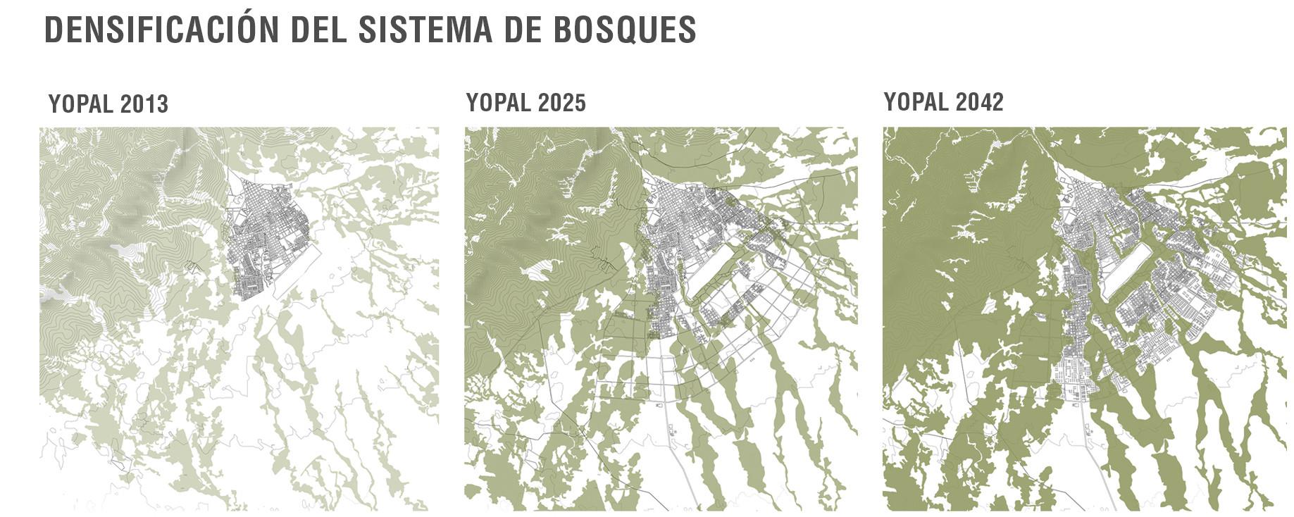 Yopal, agro-turístico: forestación. Image Courtesy of Equipo Primer Lugar