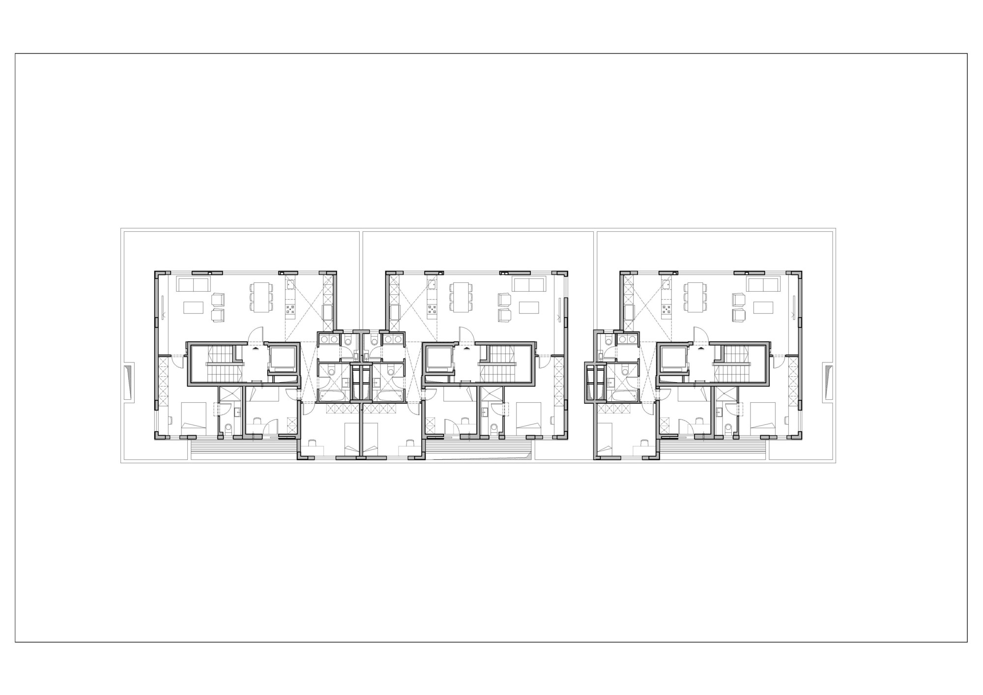 Gallery of ganei shapira affordable housing orit Affordable floor plans