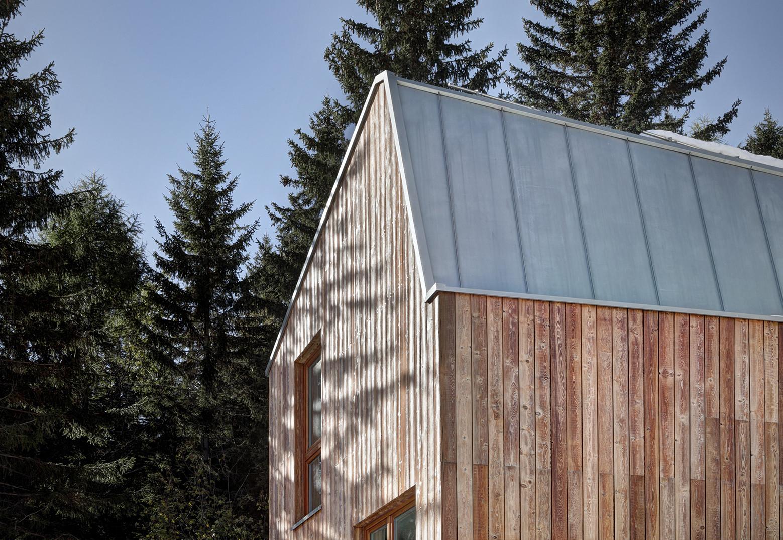 Gallery of casa fm consalez rossi architetti for Log casa architetti
