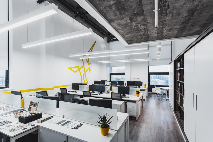Office design ind architects archdaily for Office design archdaily