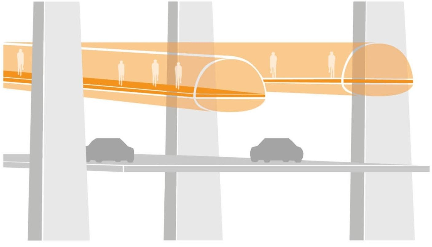 Proyecto para el Puente Öresund. Fuente: oresund2070.se