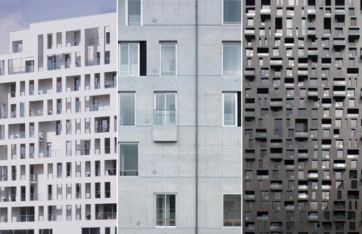 Edificios: Composición de fachadas