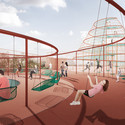 The Rooftop Playground. Image © JAJA Architects
