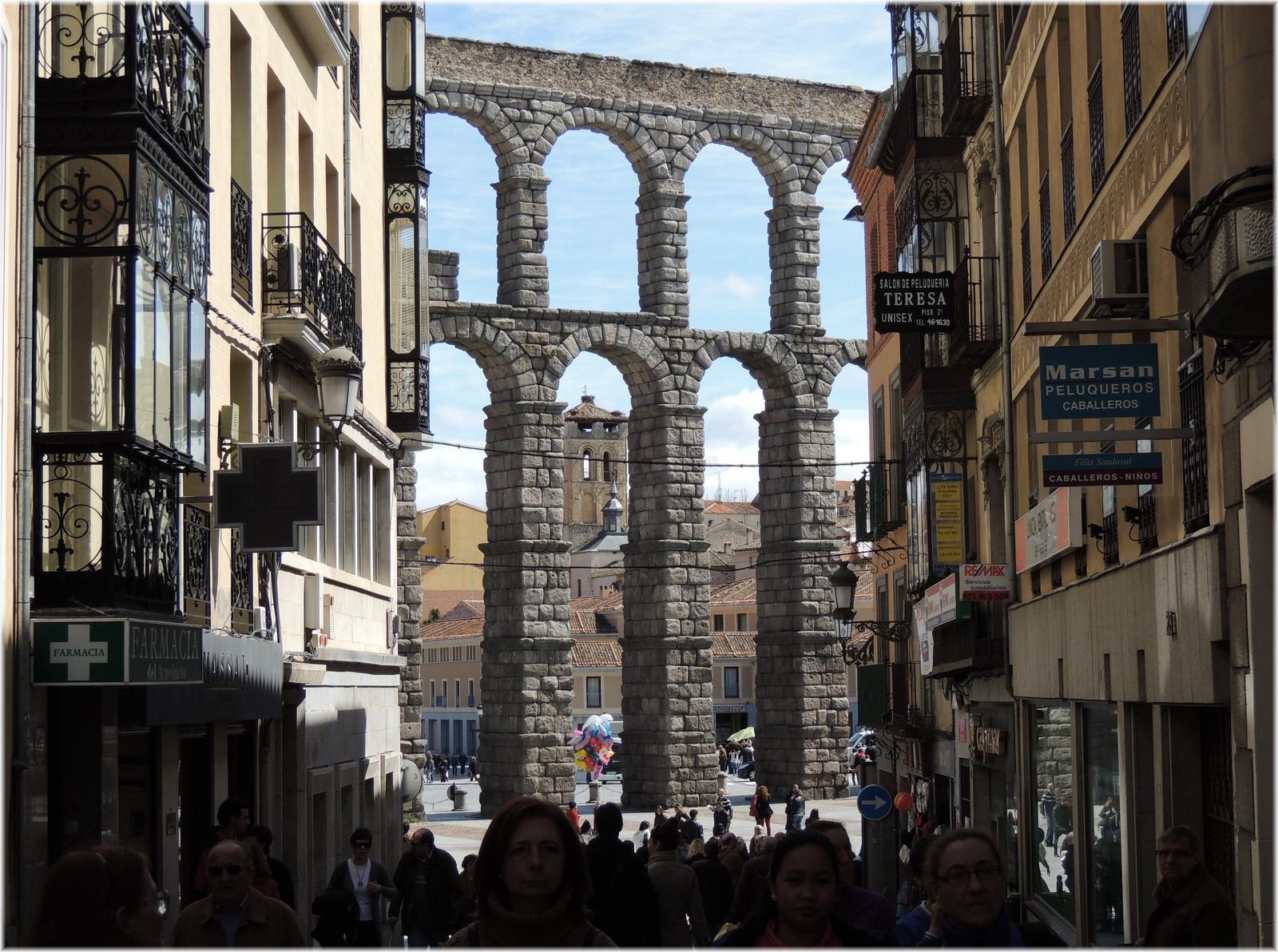 Acueducto de Segovia en la actualidad. Image © jl.cernadas [Flickr]