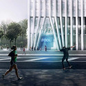 BIG´s + Alloy Design's proposal. Image Courtesy of Brooklyn Bridge Park Corporation via Architects Newspaper